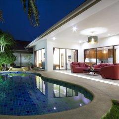 Отель Villa Tortuga Pattaya 4* Улучшенная вилла с различными типами кроватей фото 11