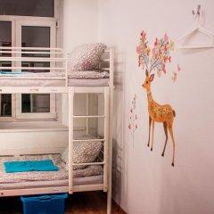 Хостел Абрикос Кровать в женском общем номере с двухъярусными кроватями фото 17