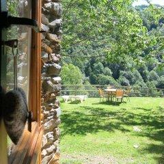 Отель Apartamentos Rurales Les Barnedes Мольо балкон