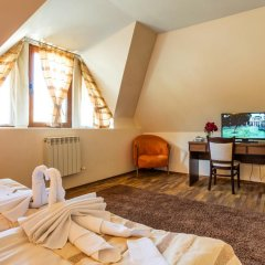Teteven Hotel 3* Стандартный номер двуспальная кровать фото 8