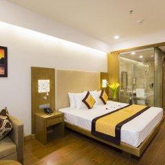 Galina Hotel & Spa 4* Улучшенный номер с различными типами кроватей фото 5