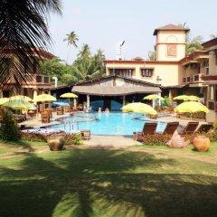 Отель Resort Terra Paraiso Индия, Гоа - отзывы, цены и фото номеров - забронировать отель Resort Terra Paraiso онлайн бассейн фото 2