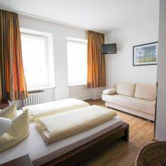 Отель Pension/Guesthouse am Hauptbahnhof Номер Комфорт с различными типами кроватей фото 6