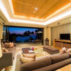Отель Trisara Villas & Residences Phuket 5* Стандартный номер с различными типами кроватей фото 10