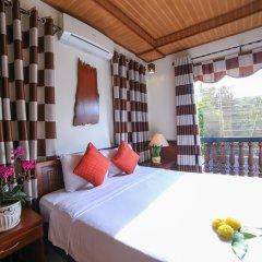 Отель Quang Xuong Homestay 2* Номер Делюкс с различными типами кроватей фото 2