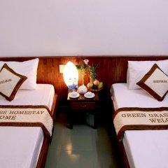 Отель Green Grass Homestay 2* Стандартный номер с 2 отдельными кроватями фото 5