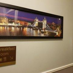 Central Hotel Лондон интерьер отеля