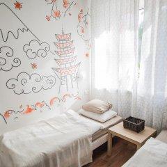 Хостел География Казань Стандартный номер 2 отдельными кровати (общая ванная комната) фото 7
