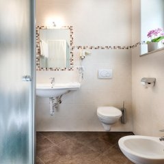 Отель B&B Ferienidylle Gstrein Парчинес ванная