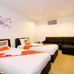 Colora Hotel 3* Стандартный семейный номер с двуспальной кроватью фото 2