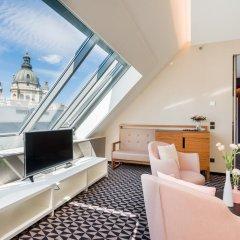 Hotel Moments Budapest 4* Люкс с различными типами кроватей фото 4