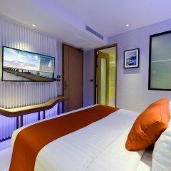 Отель Deep Blue Z10 Pattaya Улучшенный номер с различными типами кроватей фото 7