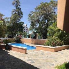 Отель Residence Oasis Доминикана, Бока Чика - отзывы, цены и фото номеров - забронировать отель Residence Oasis онлайн бассейн фото 2