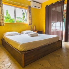 Отель Sunset Hill Lodge Французская Полинезия, Бора-Бора - отзывы, цены и фото номеров - забронировать отель Sunset Hill Lodge онлайн комната для гостей фото 5