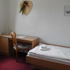 Отель Burghotel Stolpen 3* Стандартный номер с различными типами кроватей фото 3