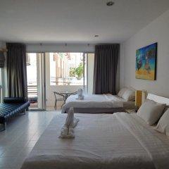 Отель Jinta Andaman 3* Семейный номер Делюкс с двуспальной кроватью фото 2