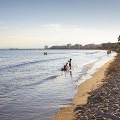 Отель & Spa Terraza Испания, Курорт Росес - 1 отзыв об отеле, цены и фото номеров - забронировать отель & Spa Terraza онлайн пляж фото 2