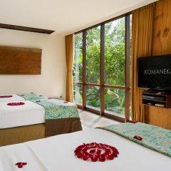 Отель Komaneka at Bisma 5* Семейный люкс с двуспальной кроватью фото 7