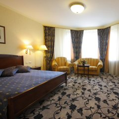 Президент-Отель 4* Номер Делюкс с двуспальной кроватью фото 13