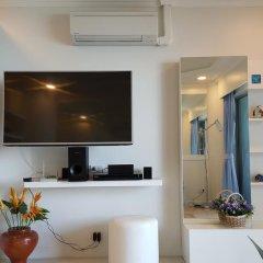 Отель Sky Beach Condominium 2* Улучшенные апартаменты с различными типами кроватей фото 14