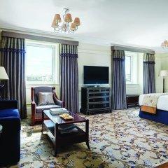 Отель The Langham, London 5* Улучшенный номер с различными типами кроватей фото 2