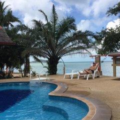 Отель Adarin Beach Resort 3* Улучшенное бунгало с различными типами кроватей фото 11