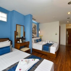 Nova Hotel 3* Семейный люкс с двуспальной кроватью фото 4