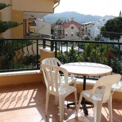 Sebnem Apart & Studios Турция, Мармарис - 1 отзыв об отеле, цены и фото номеров - забронировать отель Sebnem Apart & Studios онлайн балкон фото 4
