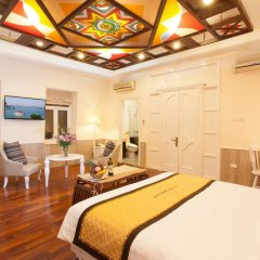 Hanoi Old Quarter Hotel 3* Стандартный номер двуспальная кровать фото 12
