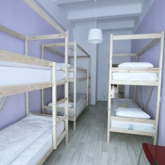 Хостел Bla Bla Hostel Rostov Кровать в женском общем номере с двухъярусной кроватью фото 6