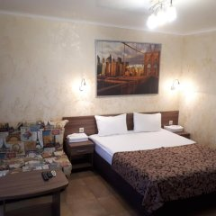 Гостевой Дом Анна Стандартный семейный номер с двуспальной кроватью