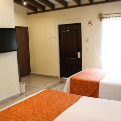 Hotel Posada Virreyes 3* Стандартный номер с различными типами кроватей фото 9