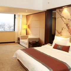 Guangdong Yingbin Hotel 4* Номер Бизнес с различными типами кроватей фото 4