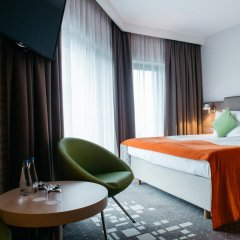 Q Hotel Plus Wroclaw 4* Стандартный номер с двуспальной кроватью фото 7