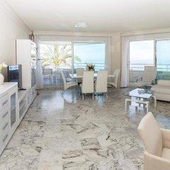 Отель Coral Beach Aparthotel 4* Улучшенные апартаменты с различными типами кроватей фото 18
