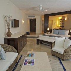 Отель Grand Park Royal Luxury Resort Cancun Caribe 4* Президентский люкс с различными типами кроватей фото 2