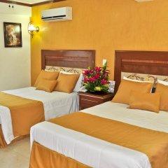 Hotel Villa Las Margaritas Sucursal Caxa 3* Стандартный номер с различными типами кроватей фото 3