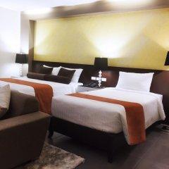 Grace Crown Hotel 3* Семейный люкс с двуспальной кроватью фото 3