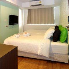 Отель Nantra Silom 3* Номер Делюкс с различными типами кроватей фото 4