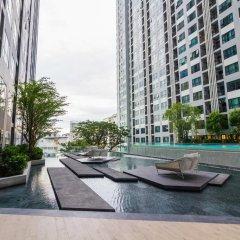 Отель The Cozy@The Base Pattaya 3* Стандартный номер с разными типами кроватей фото 8