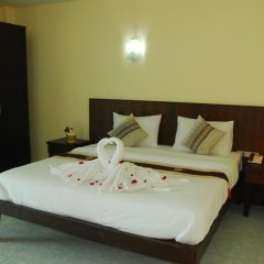 Отель Patong Palm Guesthouse Номер Делюкс разные типы кроватей фото 7
