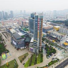 Отель Xiamen Wanjia International Hotel Китай, Сямынь - отзывы, цены и фото номеров - забронировать отель Xiamen Wanjia International Hotel онлайн балкон