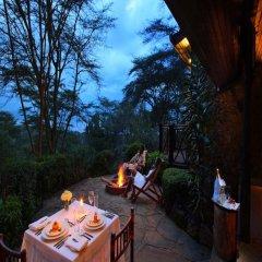 Отель Sarova Lion Hill Game Lodge 4* Улучшенное шале с различными типами кроватей фото 6
