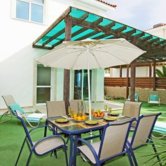 Отель Villa Jenna Кипр, Протарас - отзывы, цены и фото номеров - забронировать отель Villa Jenna онлайн балкон