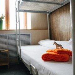 Хостел Зебра Кровать в общем номере двухъярусные кровати фото 17