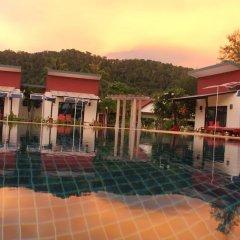 Отель Golden Bay Cottage 3* Бунгало Делюкс с различными типами кроватей фото 18