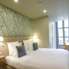 Отель Hôtel Du Centre 2* Стандартный номер с различными типами кроватей фото 9