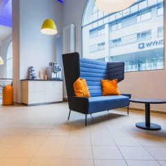 Отель a&o Copenhagen Norrebro интерьер отеля