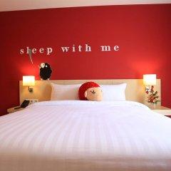 Sleep With Me Hotel design hotel @ patong 4* Улучшенный номер с двуспальной кроватью фото 4