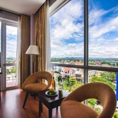 Mondial Hotel Hue 4* Номер Делюкс с различными типами кроватей фото 7